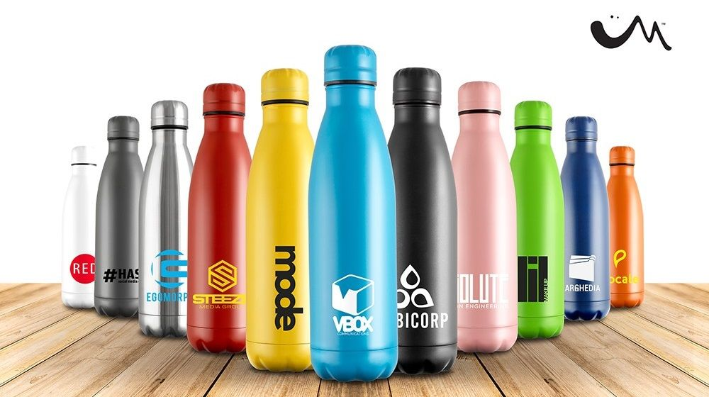 mood branded vacuum bottles